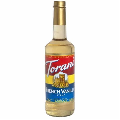 Torani French Vanilla Syrup Perspective: front