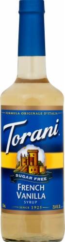 Torani Sugar Free French Vanilla Perspective: front