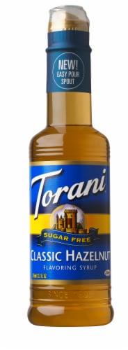 Torani Sugar Free Hazelnut Syrup Perspective: front