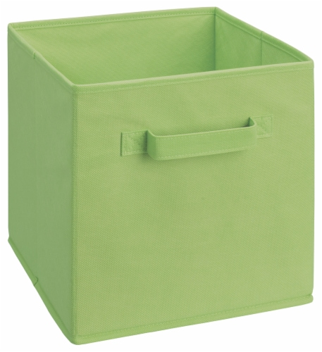 ClosetMaid Cubeicals Fabric Storage Bin - Green Perspective: front