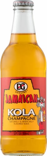 D&G Jamaican Kola Champagne Soda Perspective: front