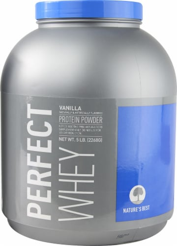 ISOPURE Perfect Whey Vanilla Protein Powder Perspective: front