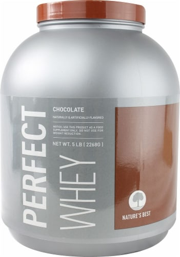 ISOPURE Perfect Whey Chocolate Protein Powder Perspective: front