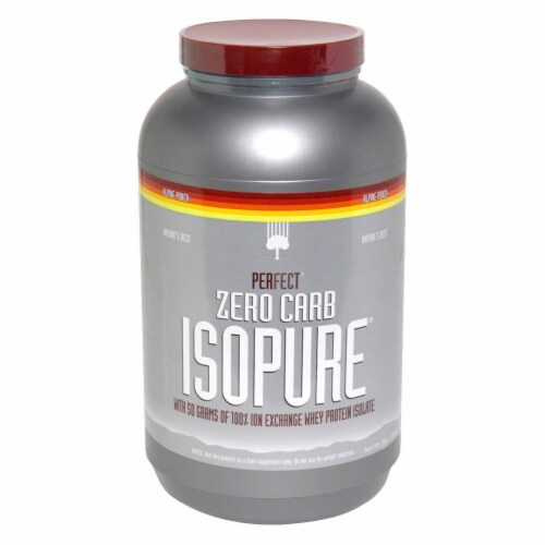 ISOPURE Perfect Zero Carb Alpine Punch Protein Powder Perspective: front