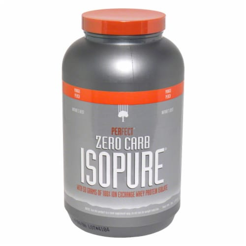 ISOPURE Perfect Zero Carb Mango Punch Protein Powder Perspective: front
