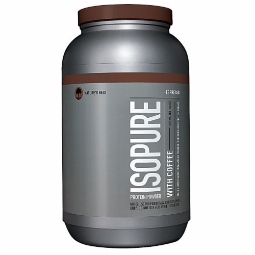 ISOPURE Coffee Espresso Protein Powder Perspective: front