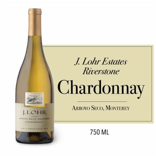 J. Lohr Estates Riverstone Chardonnay White Wine Perspective: front