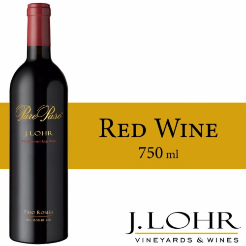 J. Lohr Pure Paso Proprietary Red Wine Perspective: front