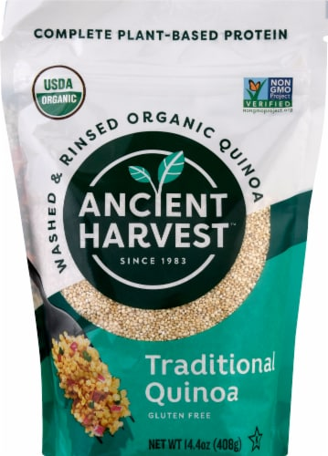 Ancient Harvest Traditional Quinoa Perspective: front