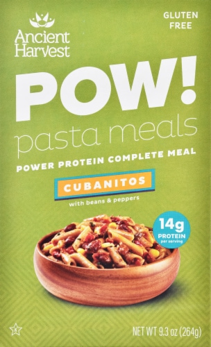 Ancient Harvest POW! Gluten Free Power Protein Cubanitos Pasta Meals with Beans & Peppers Perspective: front