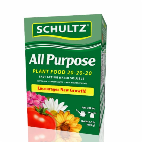 Schultz Water Soluble All Purpose Plant Food Perspective: front