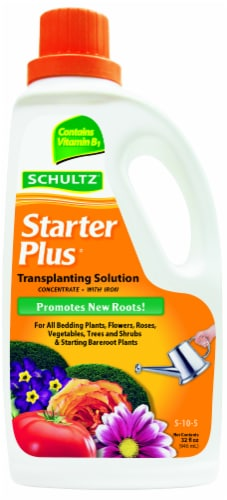 Schultz Starter Plus Liquid Plant Food Perspective: front