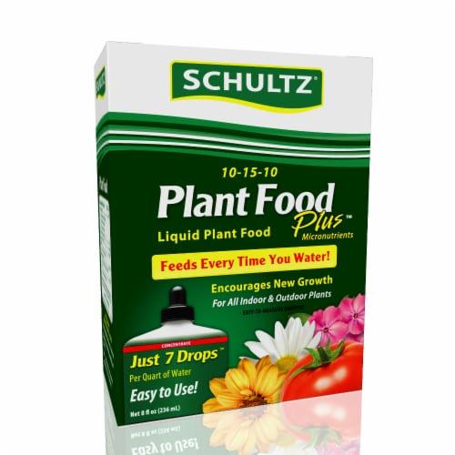 Schultz Plus All Purpose Liquid Plant Food Perspective: front