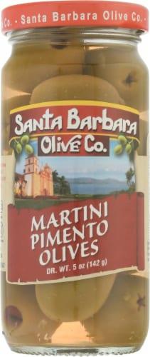 Santa Barbara Olive Co. Pimento Martini Olives Perspective: front