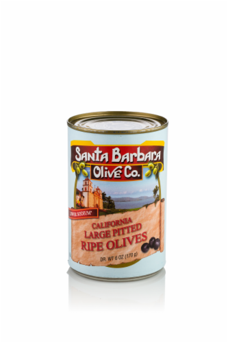 Santa Barbara Olive Company California Large Pitted Ripe Olives Perspective: front