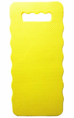 Rugg Heirloom 15.75 in. L x 7 in. W Foam Kneeling Pad Yellow Perspective: front