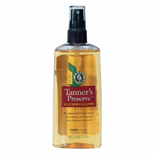 Tanners Preserve 7.5 Oz. Pump Spray Leather Care Cleaner 65864 Perspective: front
