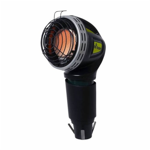 Mr. Heater MH4GC 4000 BTU Radiant Propane Portable Golf Cart Cup Holder Heater Perspective: front