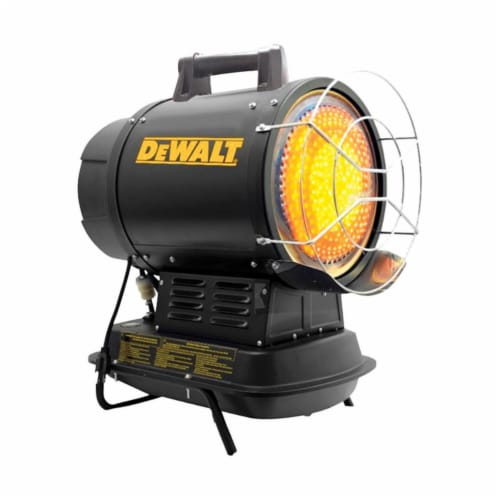 DeWalt 70,000 BTU/hr. 1750 sq. ft. Radiant Kerosene Heater - Case Of: 1; Perspective: front
