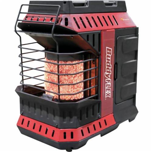 Mr. Heater 11,000 BTU Buddy FLEX Liquid Propane Portable Radiant Space Heater Perspective: front