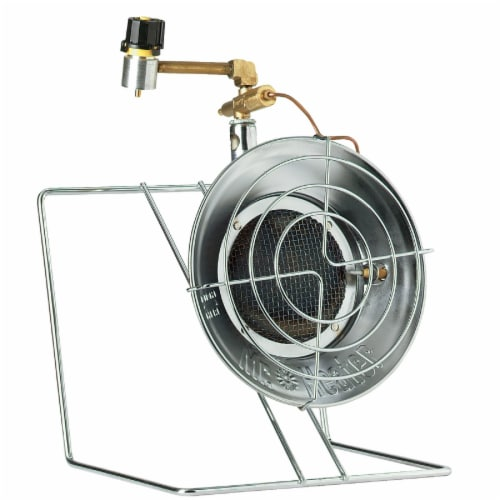 Mr. Heater MH-F242300 15,000 BTU Propane Gas Tank Top Outdoor Heater and Cooker Perspective: front