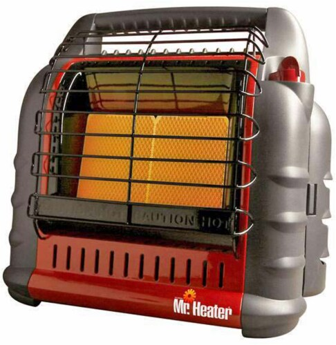 Mr. Heater Big Buddy Portable Propane Heater - Red/Black Perspective: front