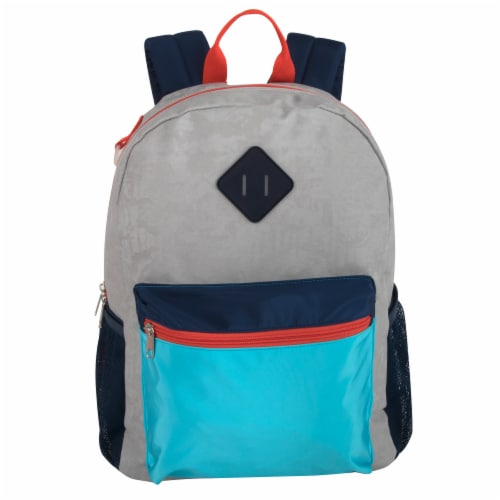 A.D. Boy's Color Block Bungee Backpack Perspective: front