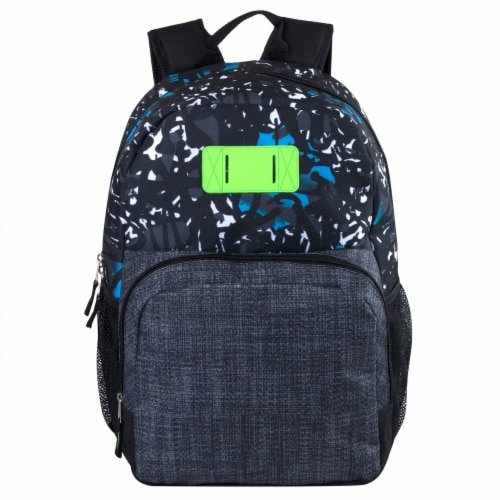 A.D. Sutton Heather Bungee Backpack Perspective: front