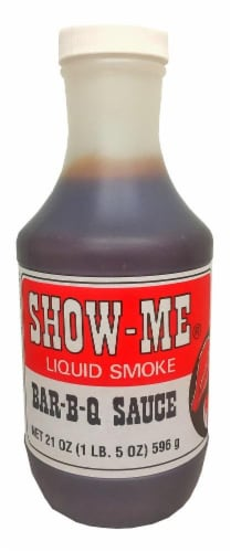 Show-Me Liquid Smoke BBQ Sauce Perspective: front