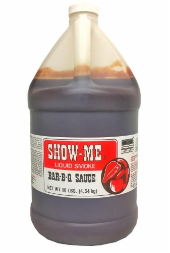 Show Me Liquid Smoke Bbq Sauce Perspective: front