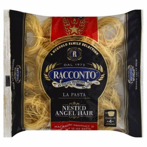 Racconto Nested Fideo Angel Hair Perspective: front