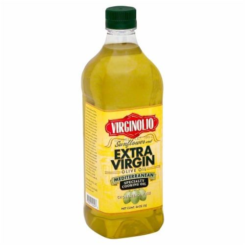 Virginolio Sunflower and Extra Virgin Olive Oil Perspective: front