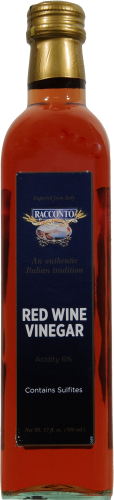 Racconto Aged Red Wine Vinegar Perspective: front