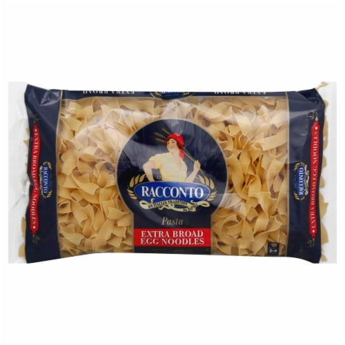 Racconto Extra Broad Egg Noodles Perspective: front