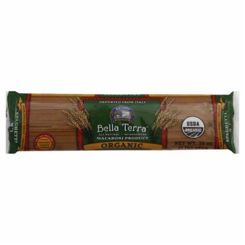 Bella Terra Organic Whole Wheat Spaghetti Perspective: front