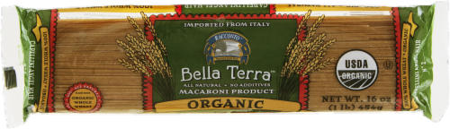 Racconto Bella Terra Organic Whole Wheat Capellini Angel Hair Perspective: front