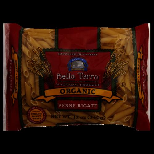 Bella Terra Organic Penne Rigate Pasta Perspective: front