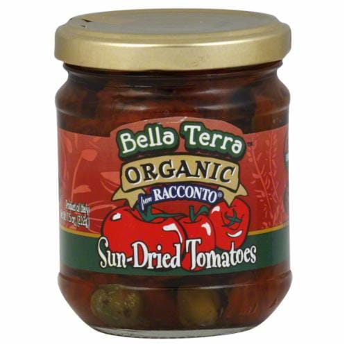 Bella Terra Organic Sun-Dried Tomatoes Perspective: front