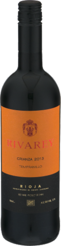 Rivarey Tempranillo Red Wine Perspective: front