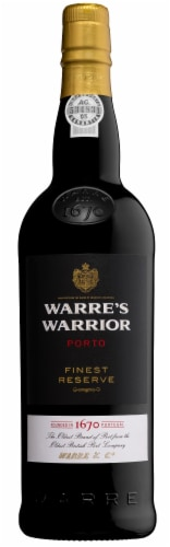 Warre's Warrior Finest Reserve Port Red Wine Perspective: front