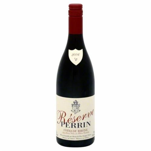 Perrin Reserve Cotes Du Rhone Rouge Perspective: front