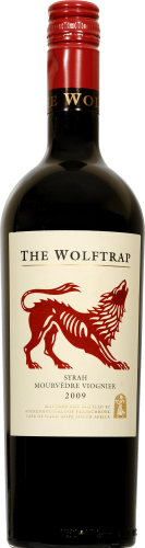 The Wolftrap Syrah Mourvedre Viognier Perspective: front