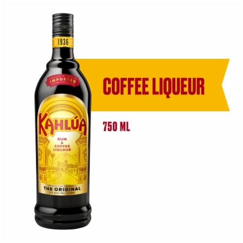 Kahlua Rum & Coffee Liqueur Perspective: front