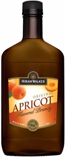Hiram Walker Original Apricot Flavored Brandy Perspective: front