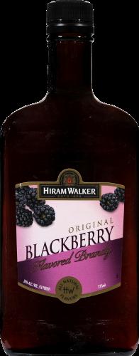 Hiram Walker Blackberry Brandy Perspective: front
