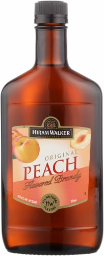Hiram Walker Peach Brandy Perspective: front