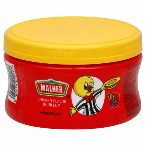 Malher Chicken Flavor Bouillion Perspective: front