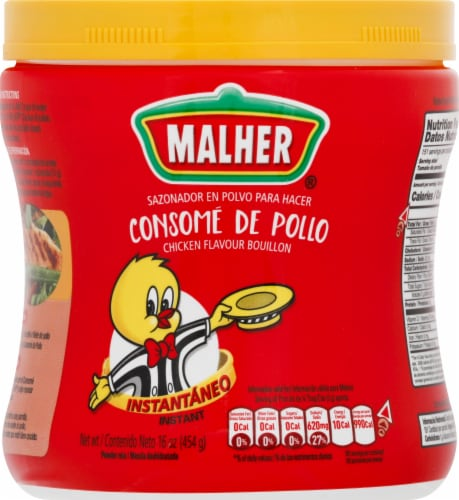 Malher Chicken Bouillon Perspective: front