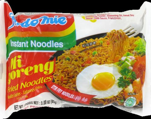 Indomie Mi Goreng Instant Stir Fry Noodles Perspective: front