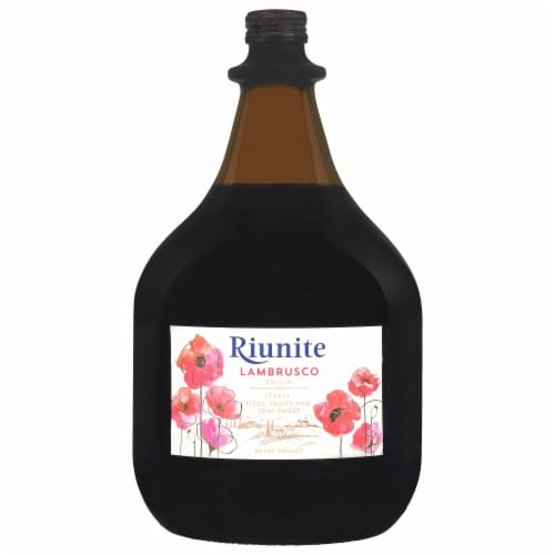 Riunite Lambrusco Red Wine Perspective: front